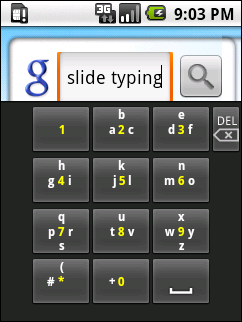 SlideType, un teclado innovador