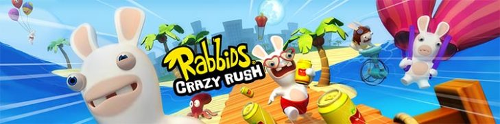 Rabbids Crazy Rush disponible en Google Play