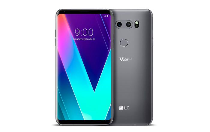 LG presenta en el MWC su LG V30STHINQ