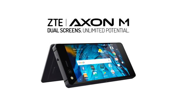 ZTE AXON M, El smartphone con Doble pantallaplegable