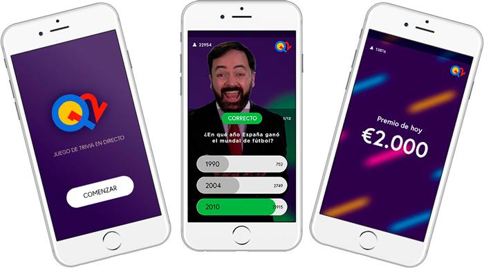 Llega a España Q12 Trivia, el primer quiz show  que se emite en directo a través del móvil