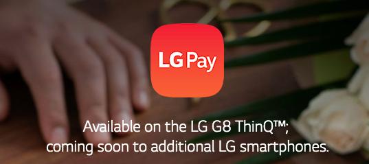 [APP] LG G Pay llega para G8, soporta varios bancos