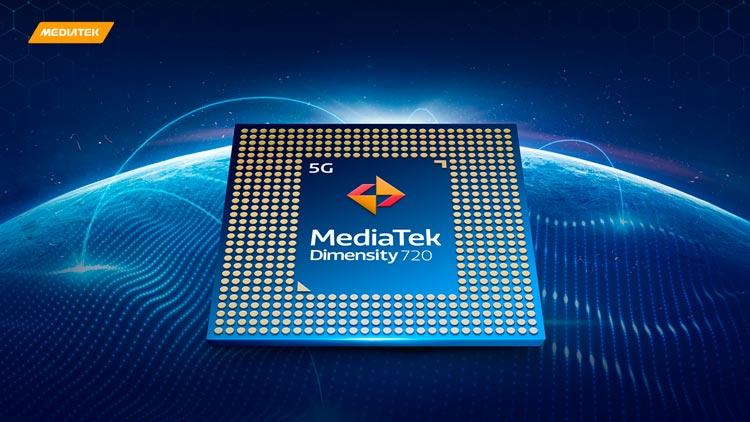 MediaTek anuncia Dimensity 720, experiencias Premium5G