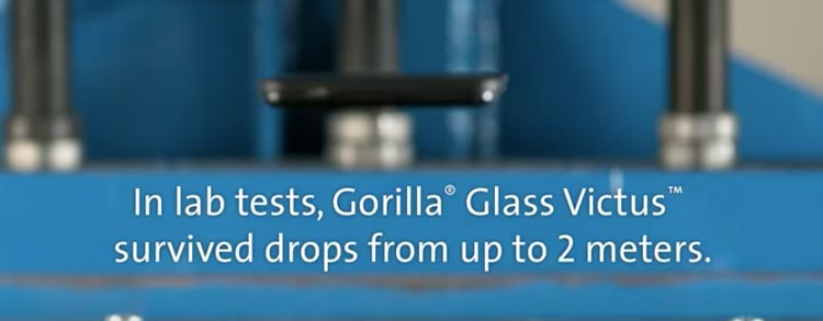 Corning anuncia el vidrio de Gorilla Victus con una mejor resistencia a la rotura y a losarañazos