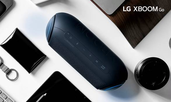 LG no enseña sus Altavoces XBOOM GO